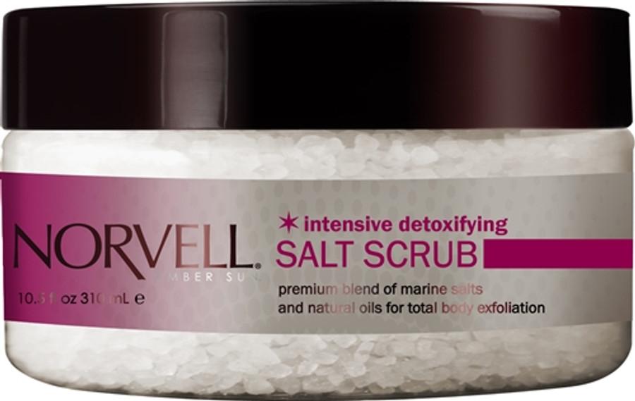 Norvell Amber Sun Intensive Detox Salt Scrub