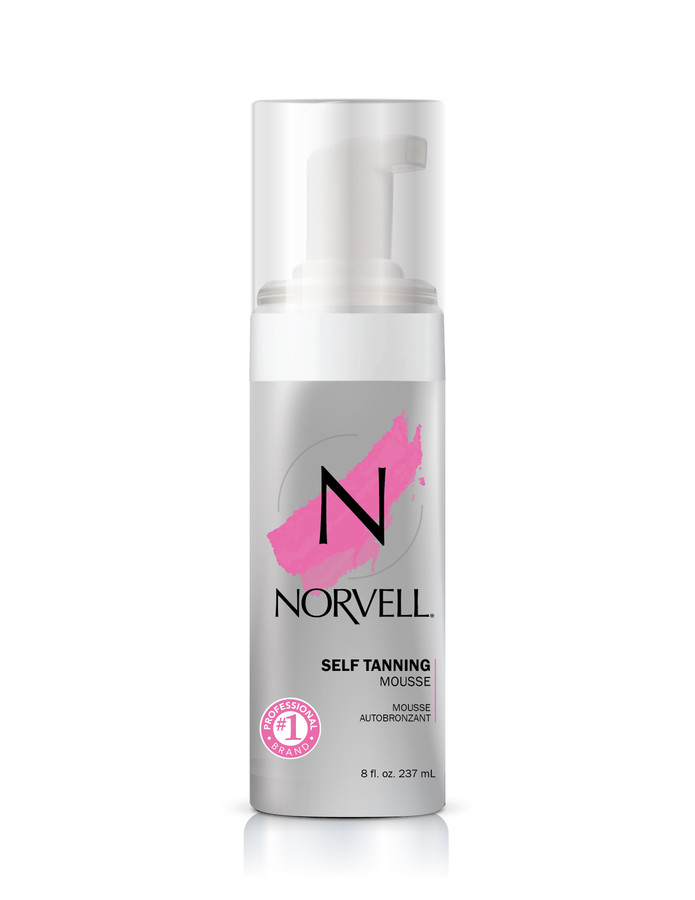 Norvell Sunless Tanning Mousse, 8 oz