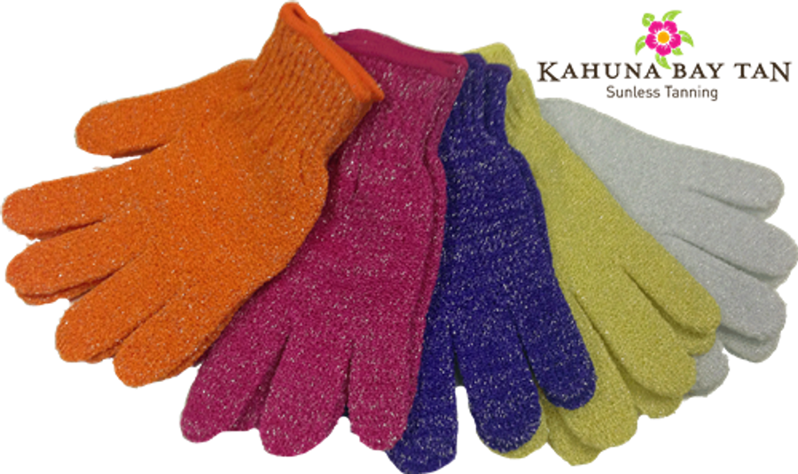 Kahuna Bay Tan Exfoliating Gloves
