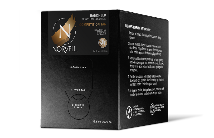 Norvell Competition Tan Spray Tan Solution, 34 oz