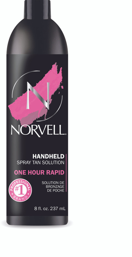 Norvell One Hour Rapid One Sunless Tanning Solution, 8 oz
