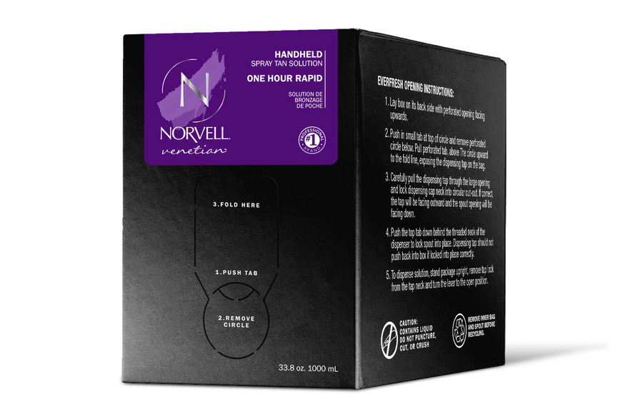 Norvell Venetian One - One Hour Rapid Sunless Solution, 34 oz