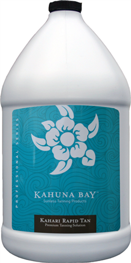 Kahari RAPID TAN Fast Developing Spray Tanning Solution 1 Gallon
