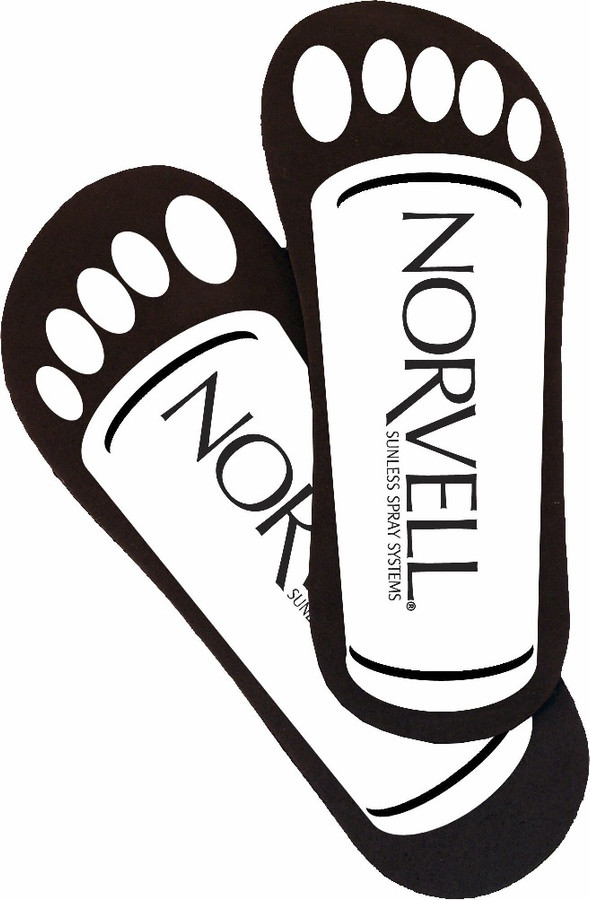 Norvell Universal Neat Feet Cardboard Disposables, 25 Pairs