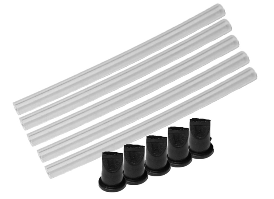 Fuji Spray Pressure Tube and Duck Bill, 5 pack (5135-5)