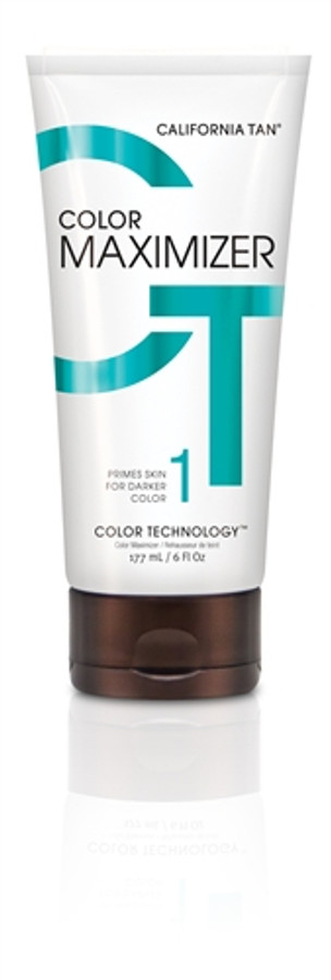 California Tan Color Maximizer Gel, 6 oz