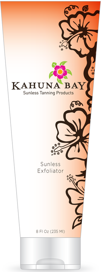 Sunless Exfoliator 2oz by Kahuna Bay Tan