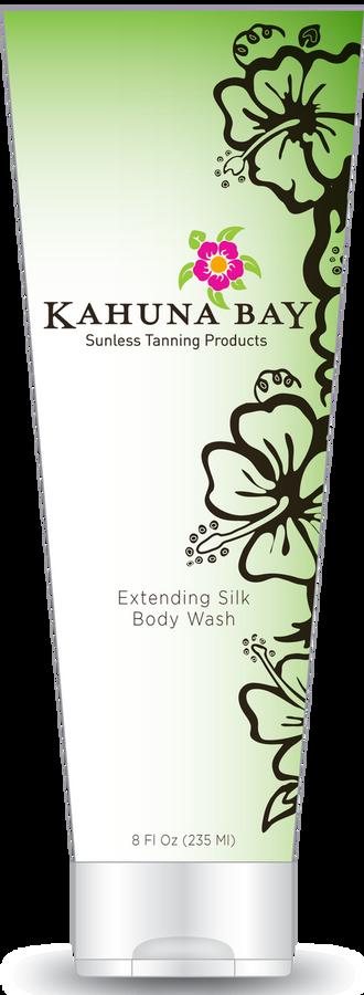 Extending Silk Body Wash 8oz by Kahuna Bay Tan
