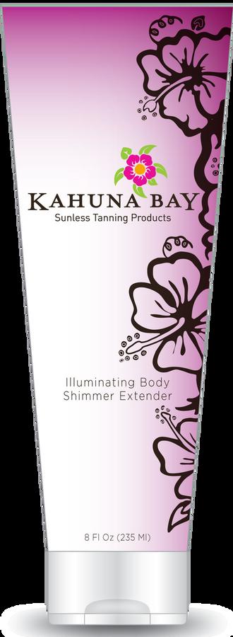 Illuminating Body Shimmer Extender 8oz by Kahuna Bay Tan