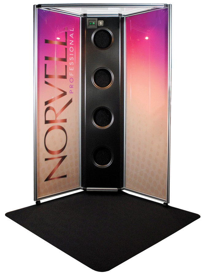 Norvell Overspray Reduction Booth - Color Panels