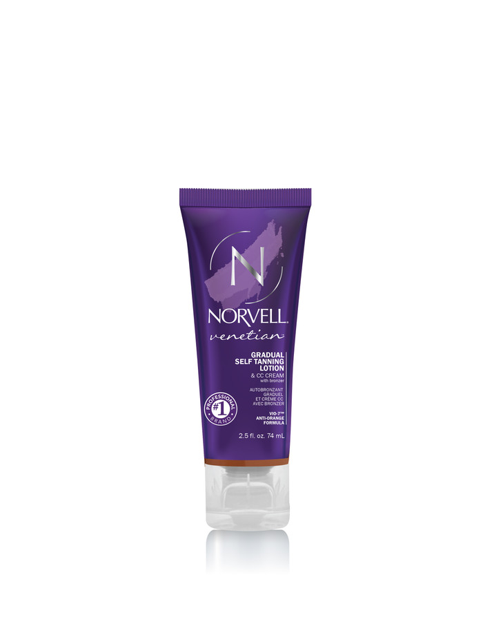 Norvell Venetian Gradual Self Tanner with Bronzer, 2.5 oz