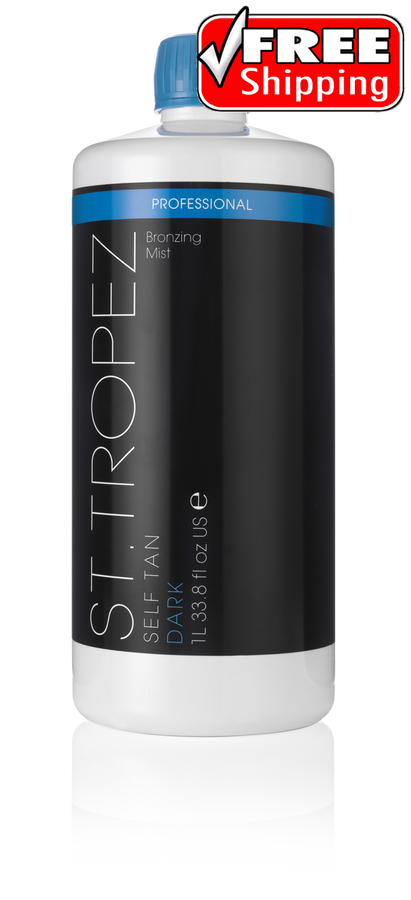St Tropez DARK Bronzing Mist Spray Tanning Solution 33.8
