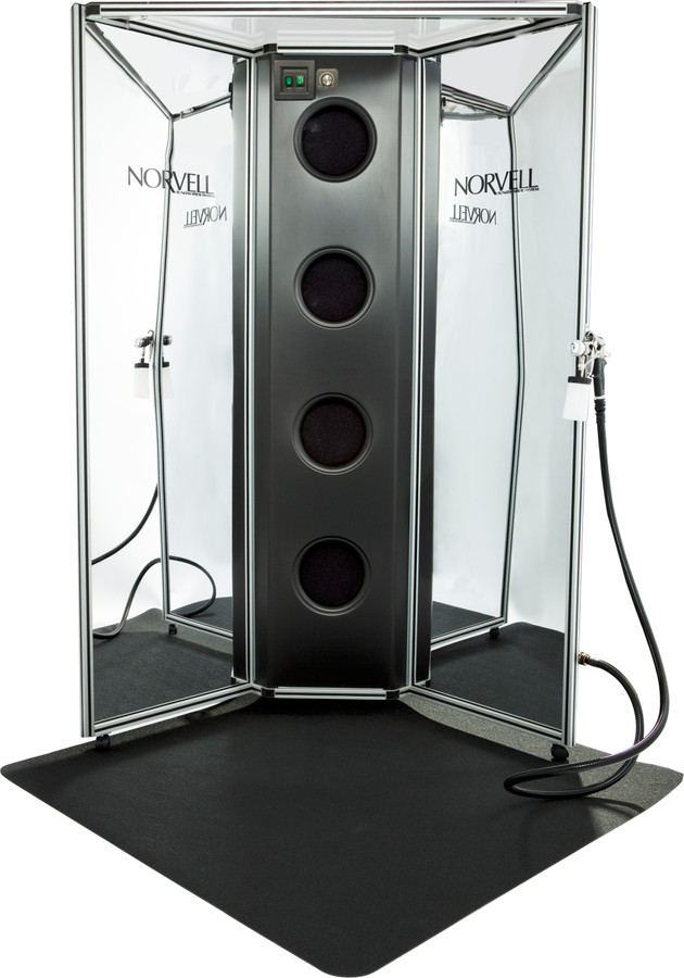 Norvell Arena All-In-One Professional Spray System - Mirrored Panels