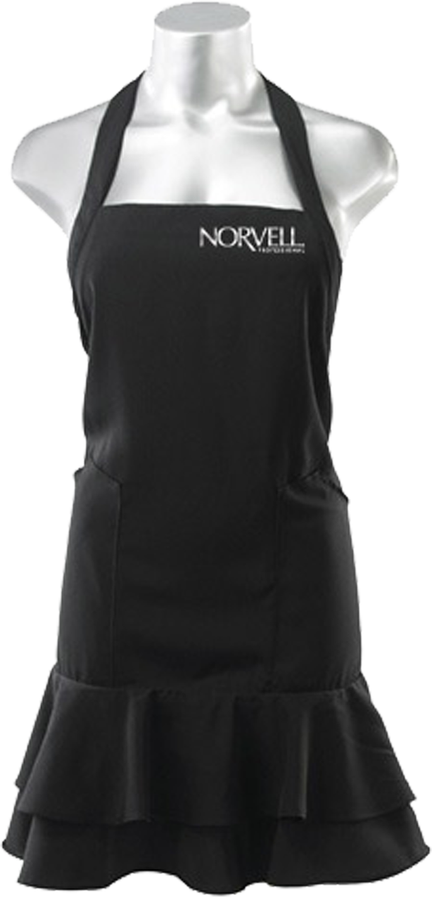 Norvell Technician's Apron, Black
