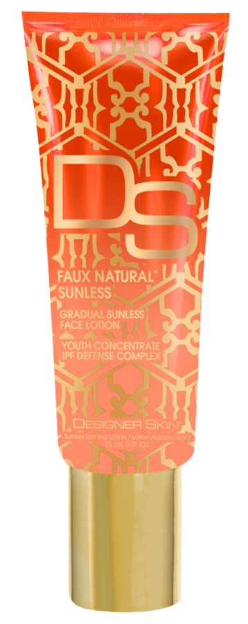 Designer Skin DS Gradual Sunless Face Lotion, 3 oz