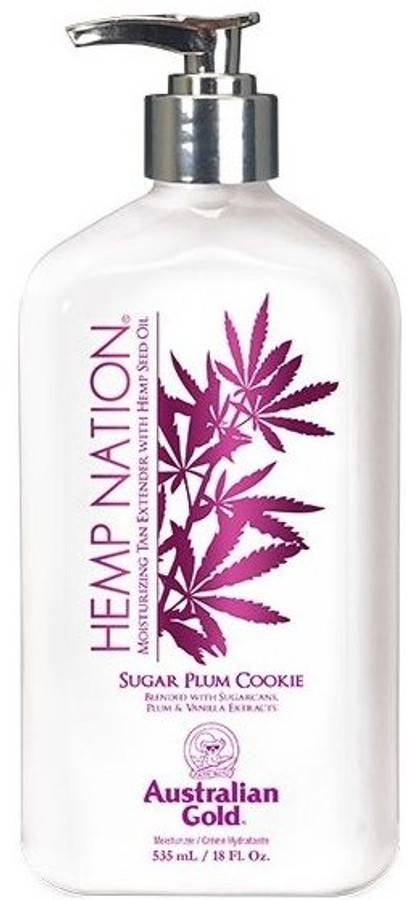 Australian Gold Hemp Nation Sugar Plum Cookie Body Lotion, 18 oz