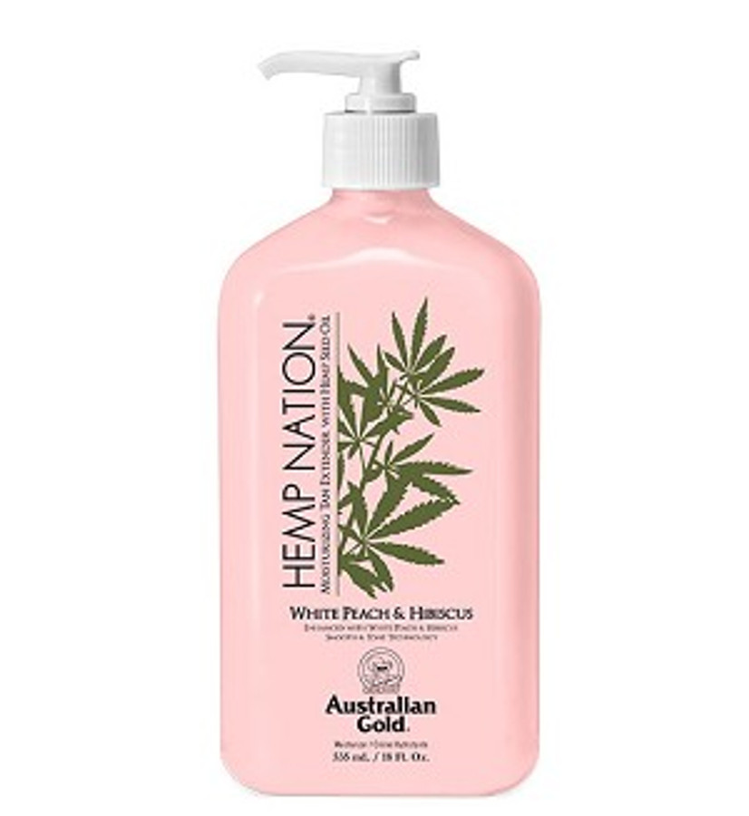 Australian Gold Hemp Nation White Pear & Hibiscus Body Lotion, 18 oz
