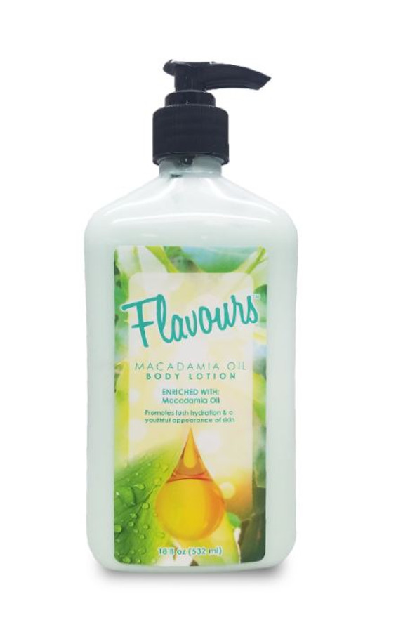 Flavours Macadamia Oil Body Lotion 18 oz