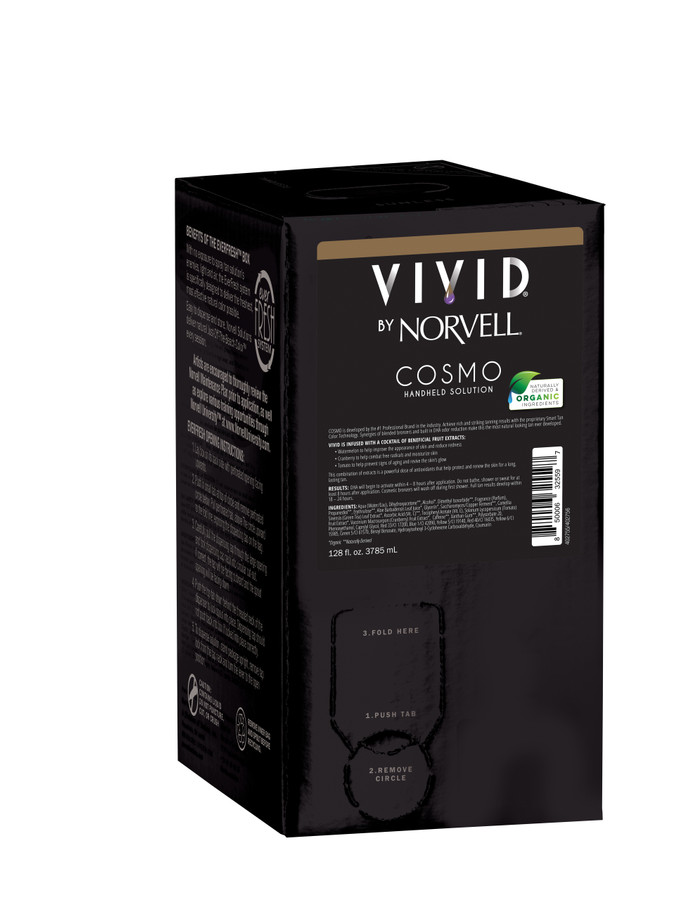 Norvell Ultra Vivid Cosmo Sunless Solution, 128 oz