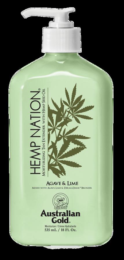 Hemp Nation Agave Lime Body Lotion, 18 oz