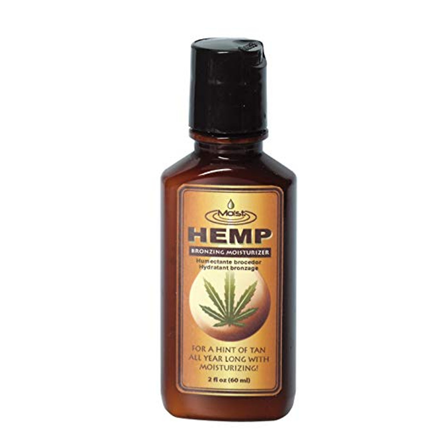 Moist Hemp Bronzing Body Moisturizer, 2 oz