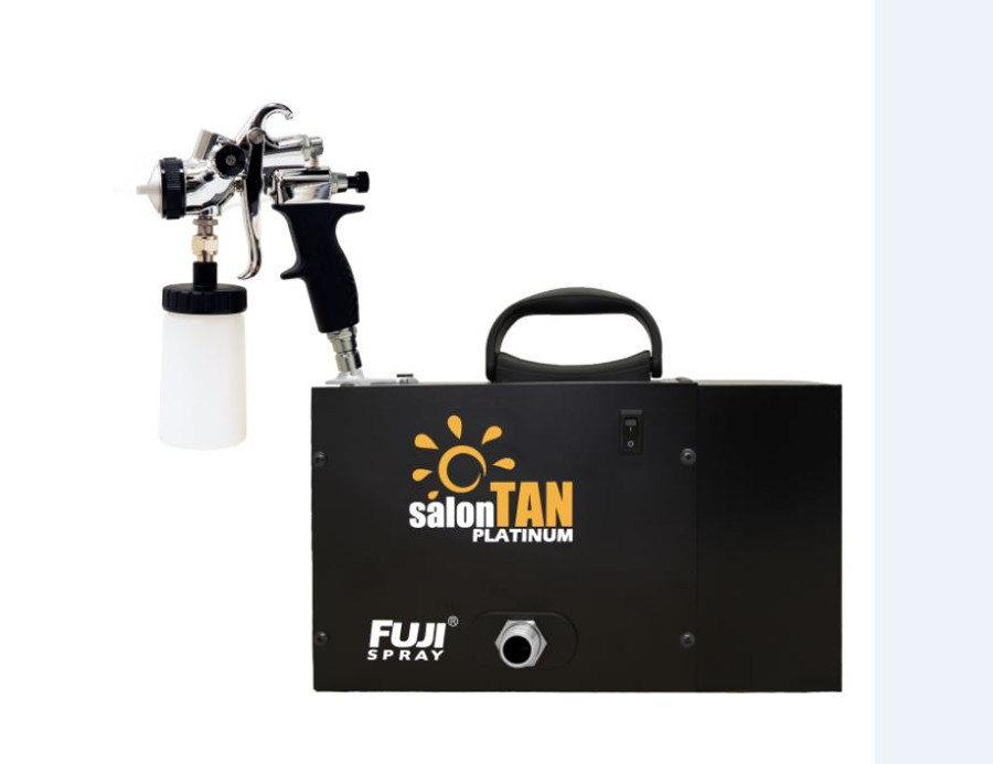 Fuji Spray Sunless 6150 salonTAN Platinum™ With T-PRO Bottom Feed Applicator