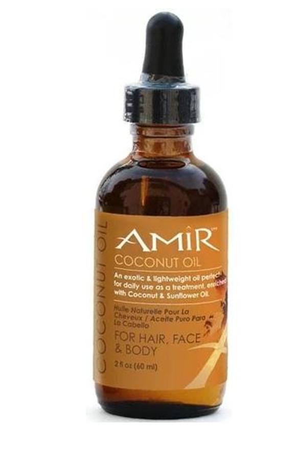 Amir Coconut Oil for Hair, Face & Body, 2 fl oz