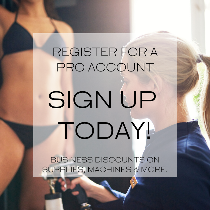 Register for a pro account. Sign up today! Business discounts on supplies, machines & more.
