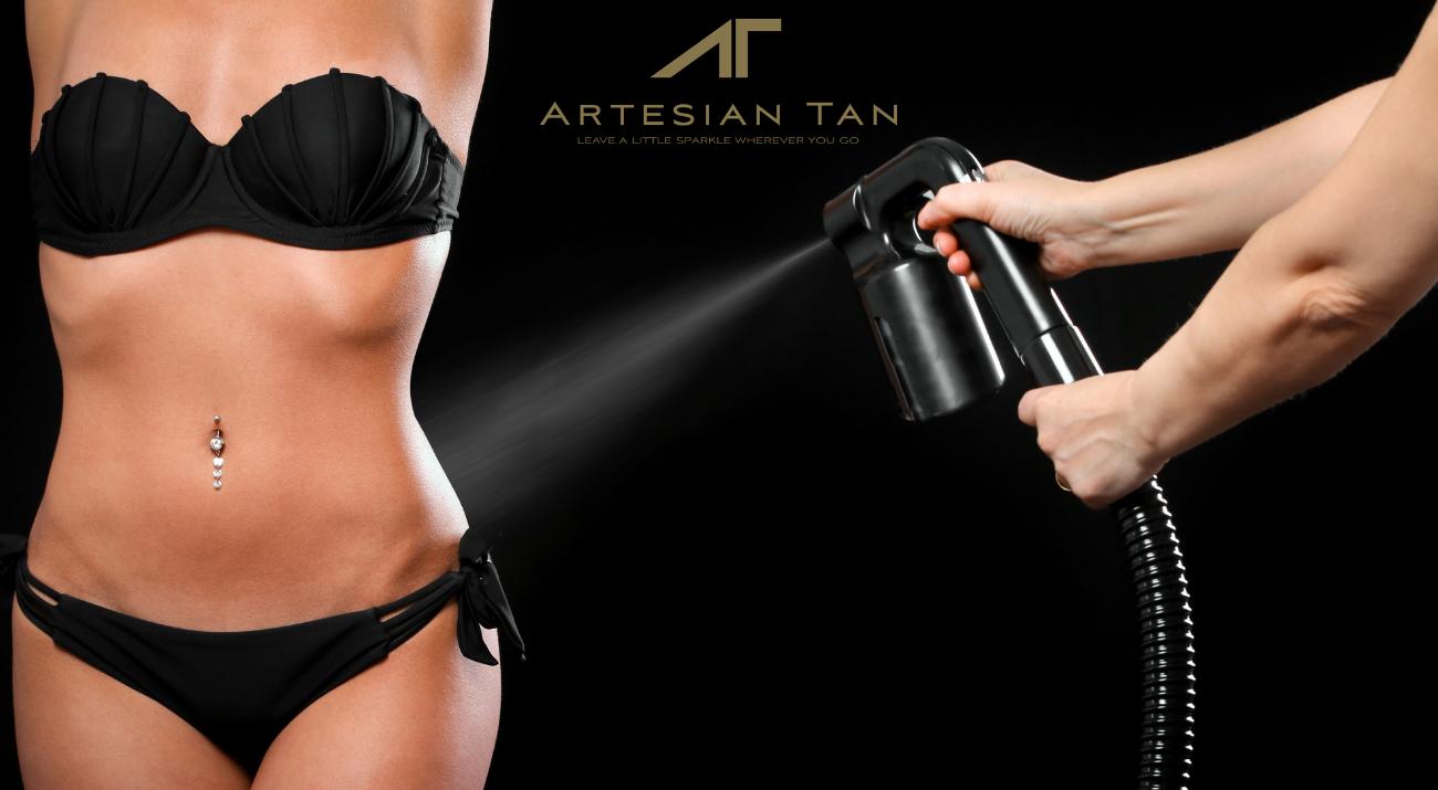 Airbrush Tan Vs Spray Tan What To Choose Artesian Tan