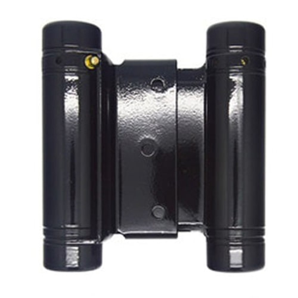 "3"" Black Gloss Spring Hinges Commercial Grade"