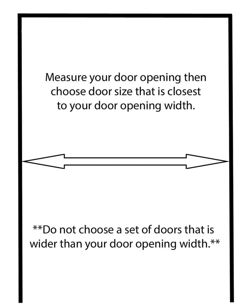 How to Measure your Door Opening