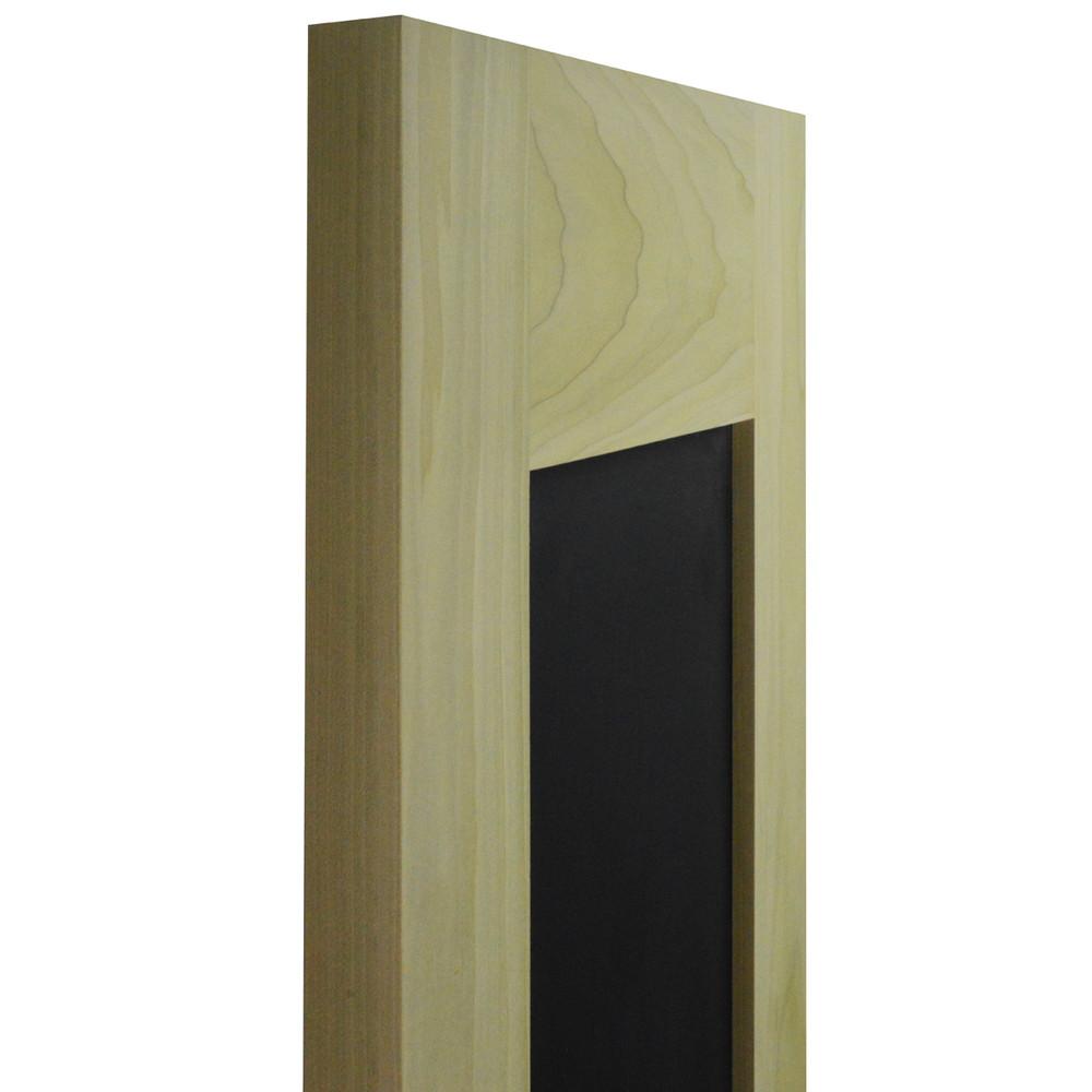 Side View of Chalkboard Cafe Doors | Saloon Doors