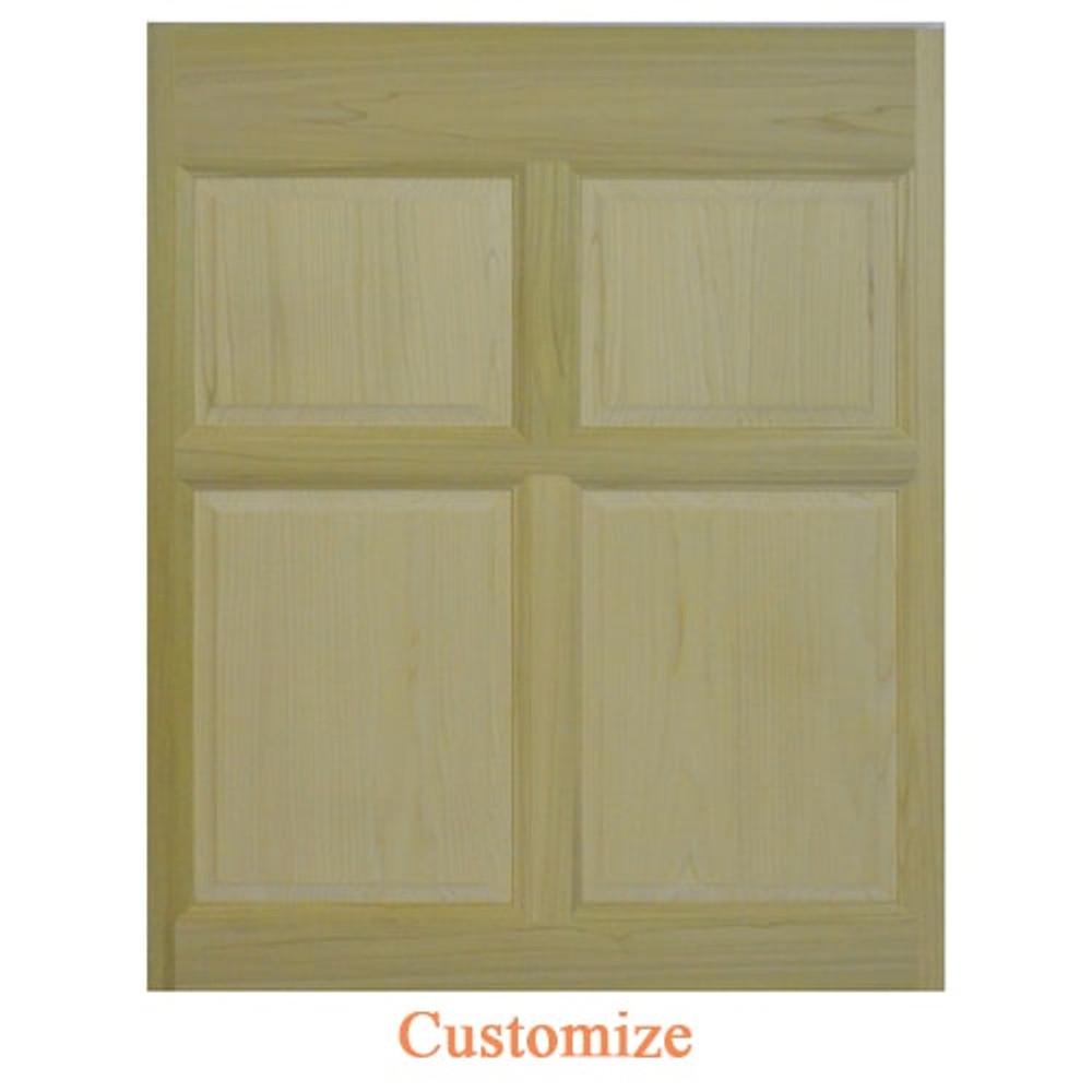 Custom Single Colonial Wooden Cafe Door | Saloon Door