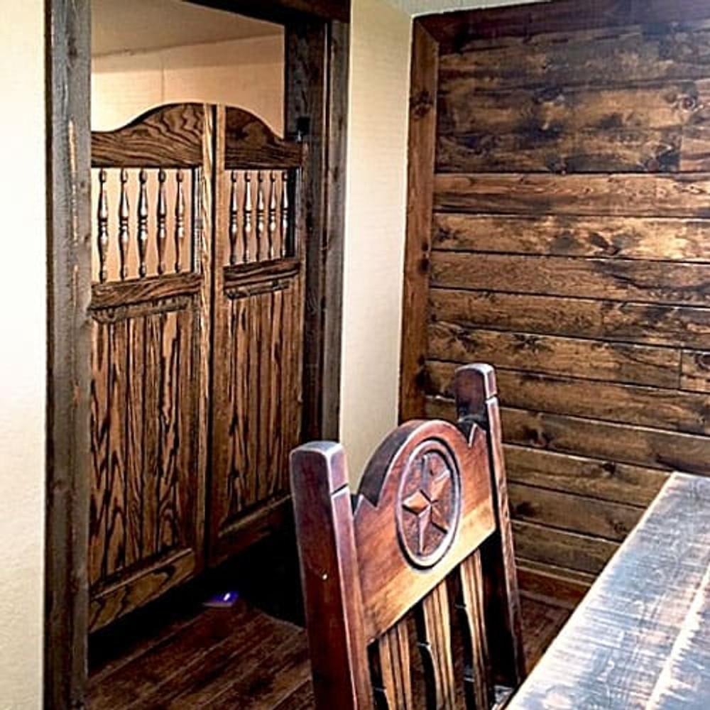 Western Craftsman Doors Installed in Office