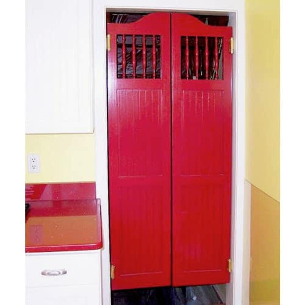 Full Length Western Craftsman Door Installed
