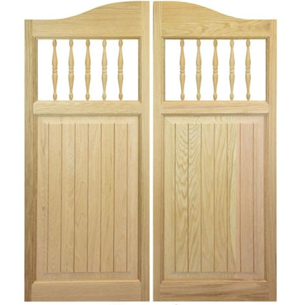 Craftsman Western Saloon Doors | Cafe Doors