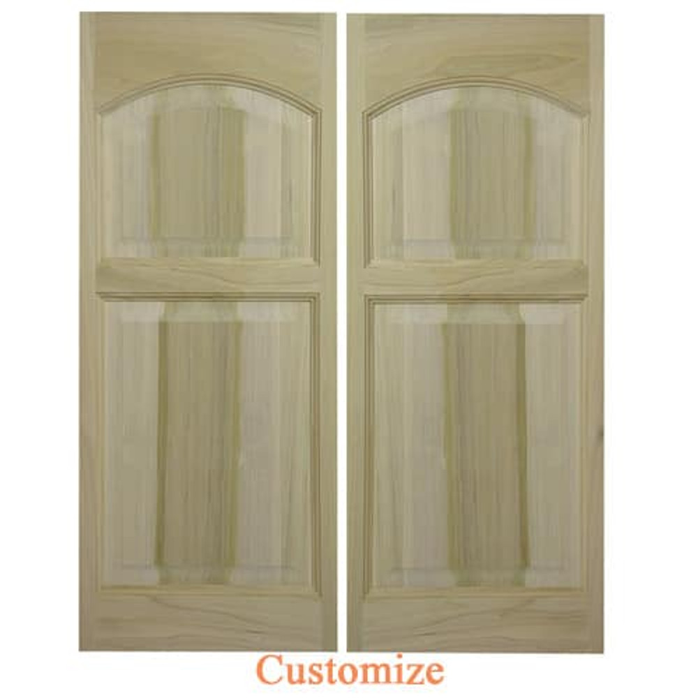 Rounded Arch | Eyebrow Arch Saloon Doors | Swinging Cafe Doors
