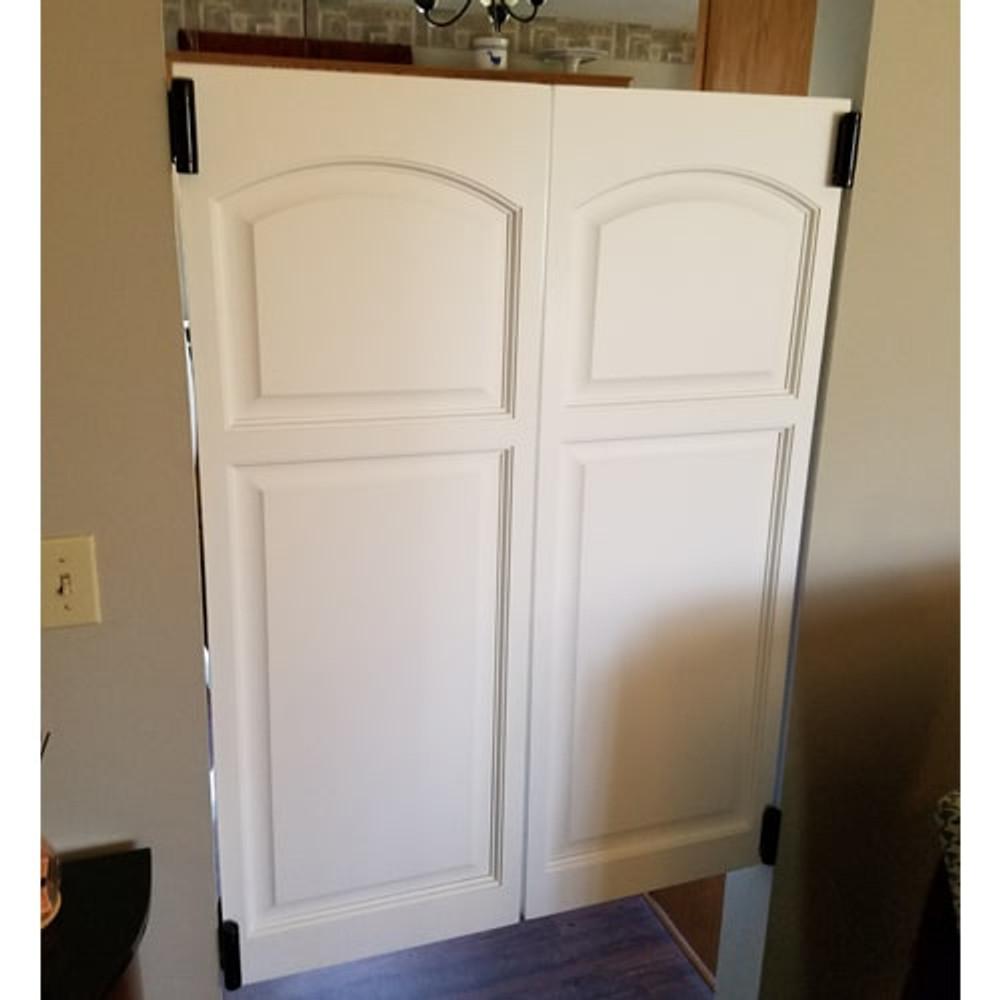 Rounded | Eyebrow Arch Saloon Doors