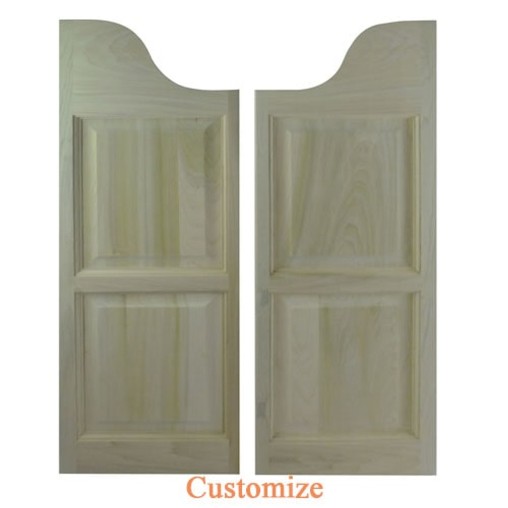 Western Arch Top Saloon Doors