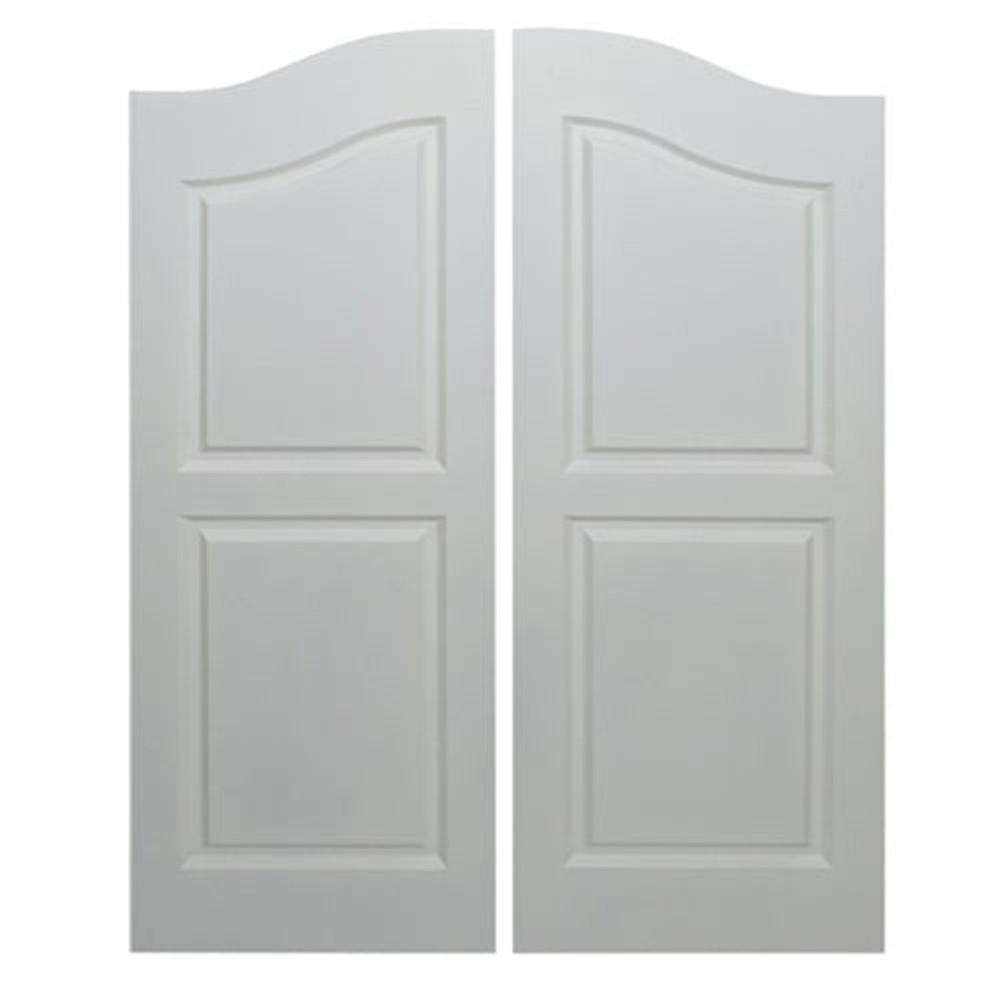"Scratch and Dent! Saloon Doors   Cafe Doors Fits Any 24"" or 2' Door Opening- Primed"