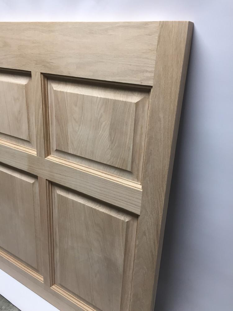 Custom Single Oak Colonial Wooden Café Door | Swinging Café Doors