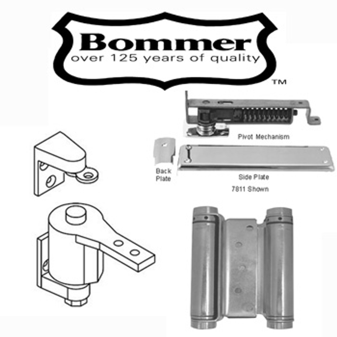 ​Why Bommer Hinges Are Your Best Bet for Saloon Door Hinges