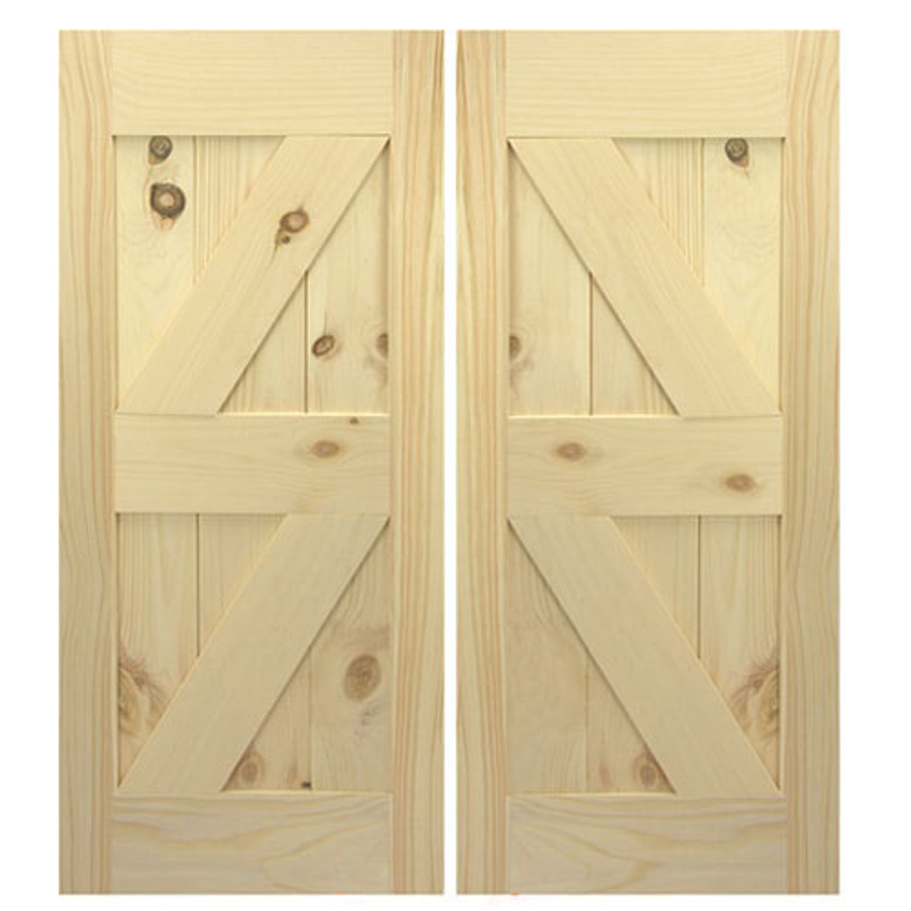 Double Interior Barn Style Doors Double Z Custom Barn Doors