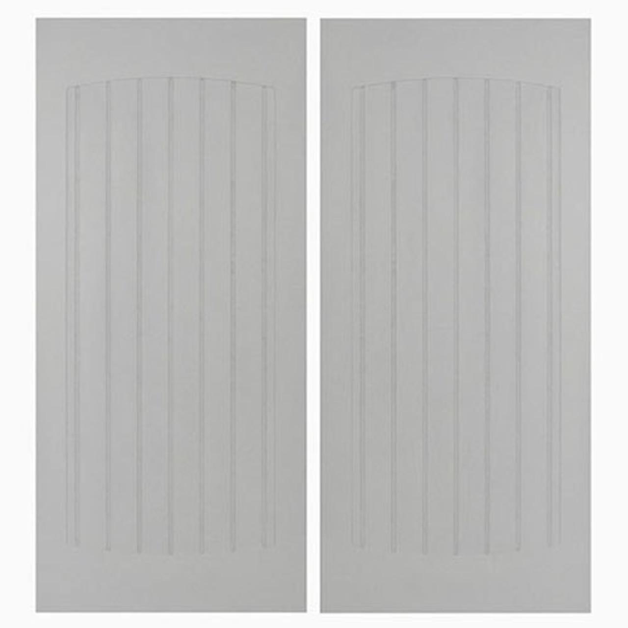 """Craftsman Beadboard Saloon Doors-24"""", 30"""", 32"""" & 36"""" Door Opening Sizes"""