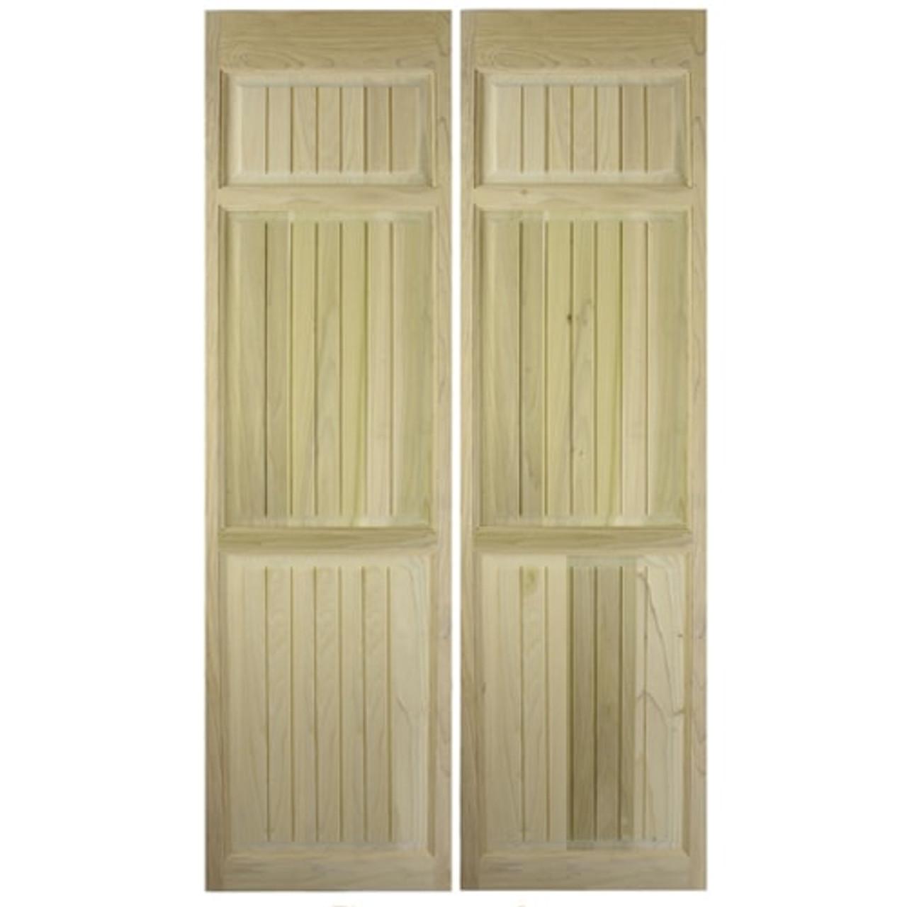 Craftsman Full Length Saloon Doors   Swinging Cafe Doors