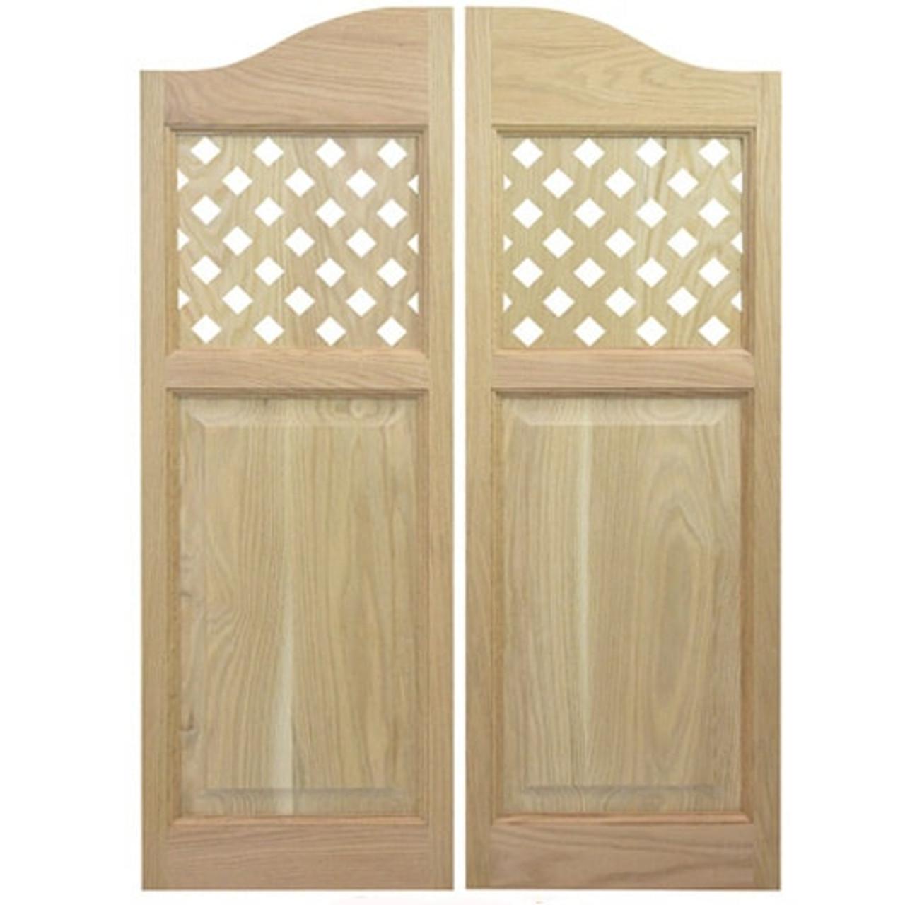 Lattice Style Cafe Doors | Saloon Doors