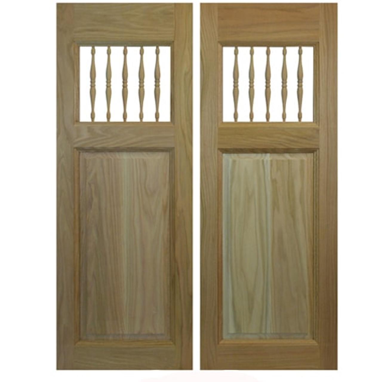 Commercial Grade Spindles Western Saloon Doors