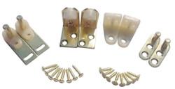Hardware Hinges For Saloon Doors / Cafe Doors Brass