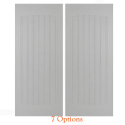 "24"" Craftsman Beadboard  Doors with Hardware Included"