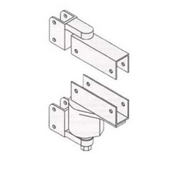 Bommer 7114- Adjustable Spring Pivot Box Clamp Door Bracket
